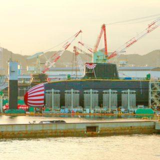 10月14日潜水艦進水式特別ルート