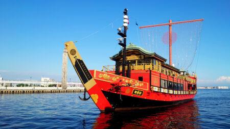御座船安宅丸 10月16日より神戸港にて運航開始